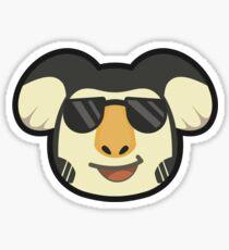 EUGENE ANIMAL CROSSING Sticker