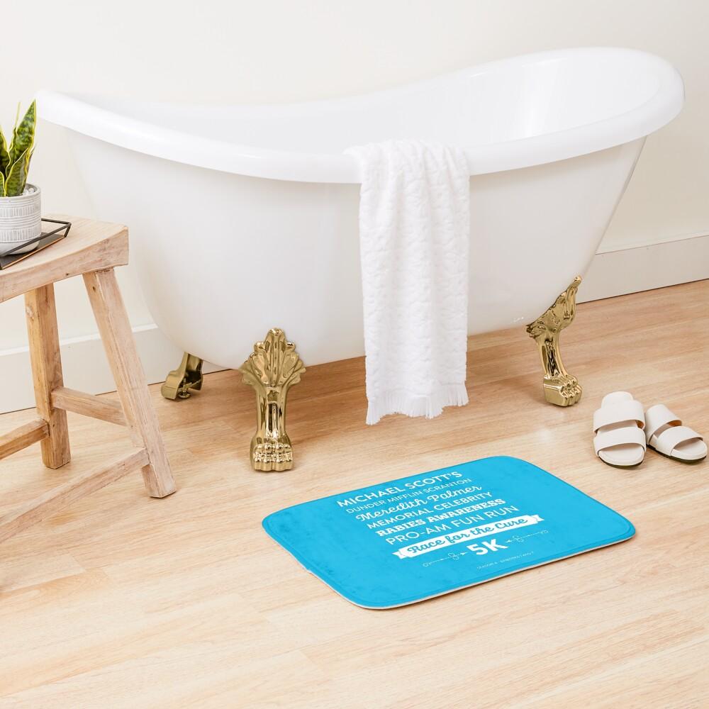 The Office - Rabies Awareness Fun Run Bath Mat