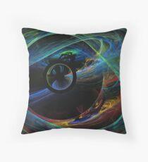 Alternate Dimensions Throw Pillow