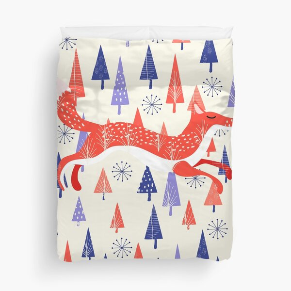 Holiday Mood Duvet Cover