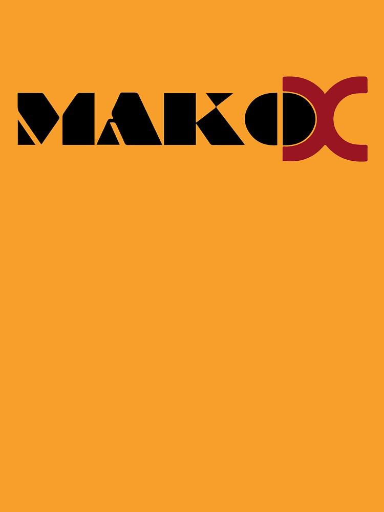 Mako DC Black Logo by declan37