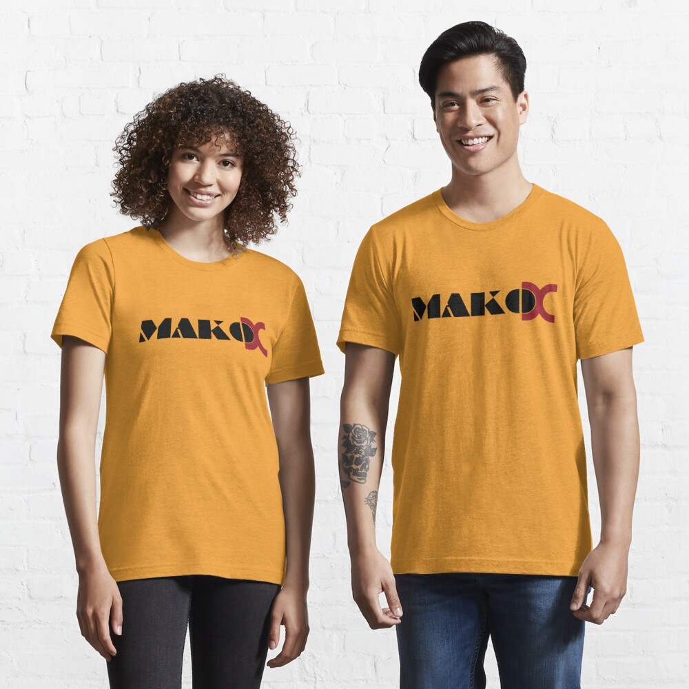Mako DC Black Logo Essential T-Shirt