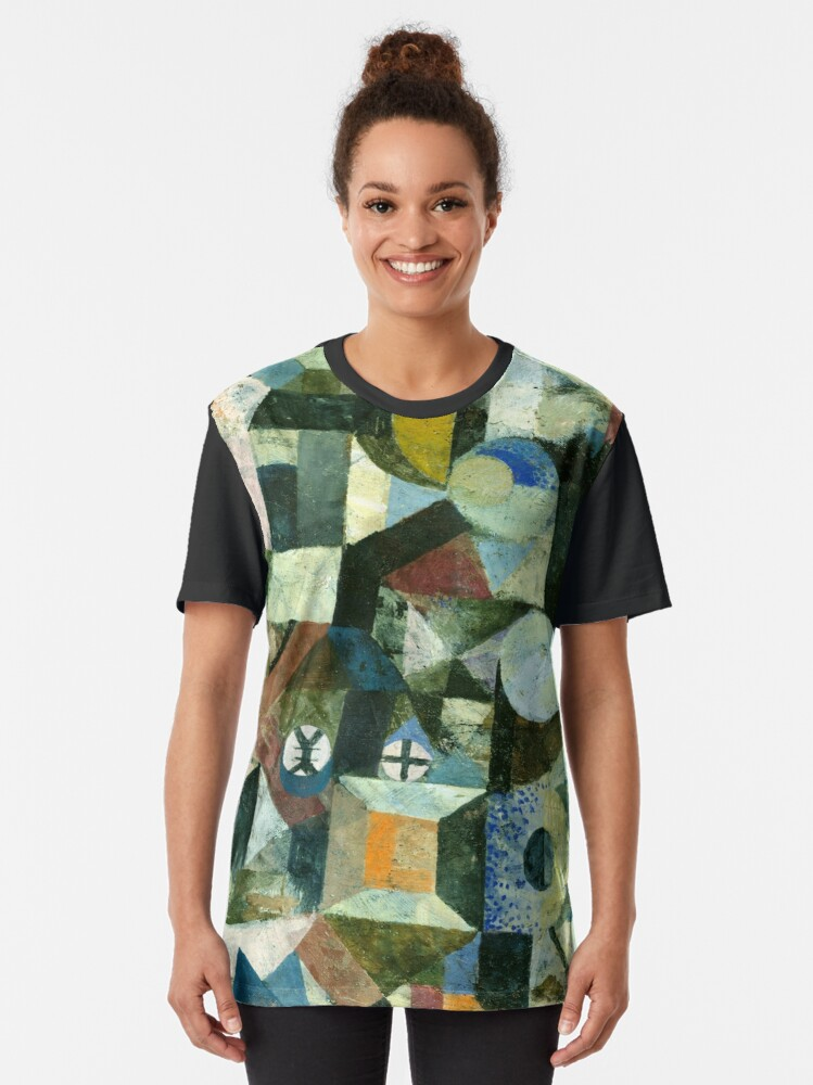 Alternate view of Paul Klee   Composition with the Yellow Half-Moon and the Y Graphic T-Shirt
