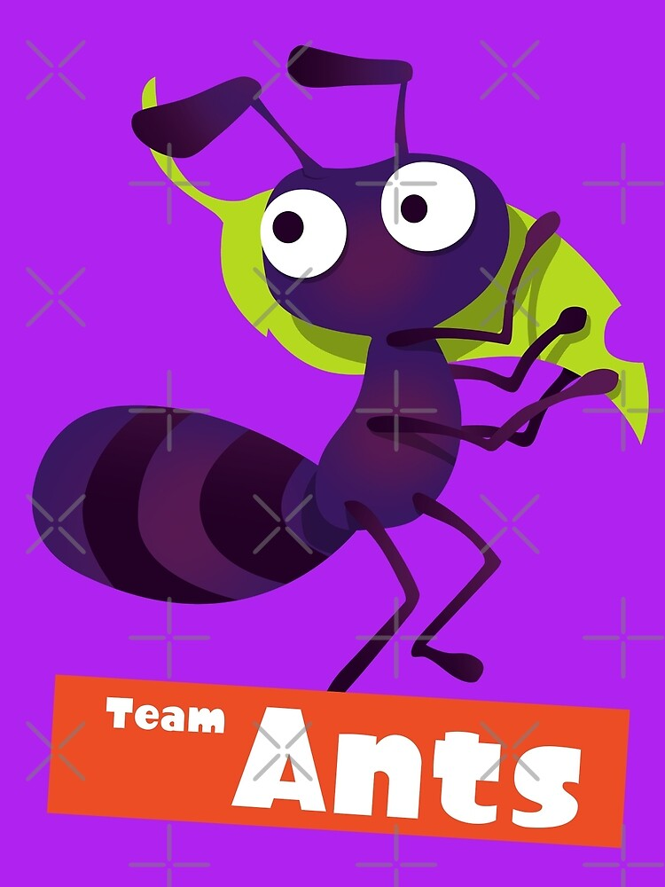 Splatfest Team Ants v.2 by KumoriDragon