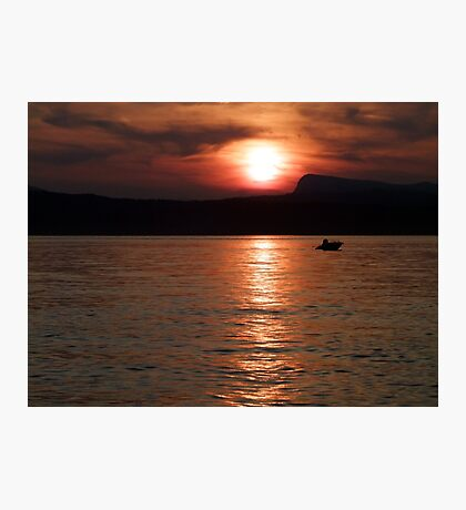 Done Fishing Photographic Print