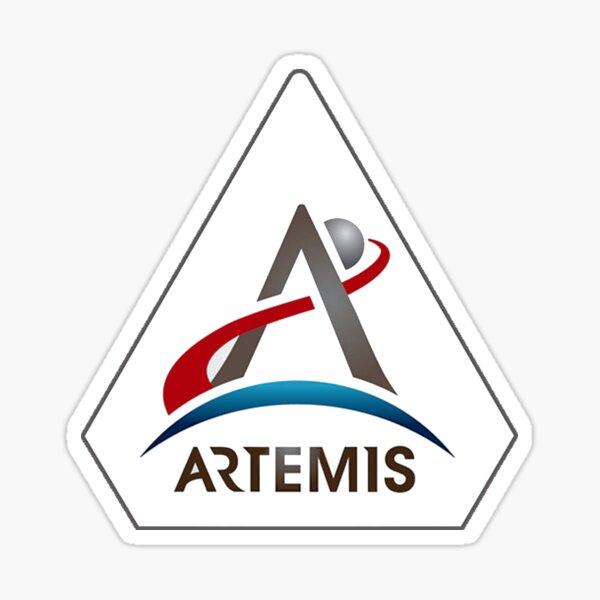 Artemis New NASA Pentagon Logo Sticker