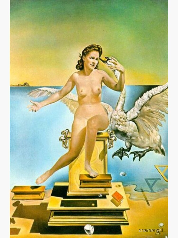 Leda Atomica is a painting by Salvador Dalí, made in 1949 by znamenski