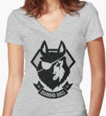 DD company Women's Fitted V-Neck T-Shirt