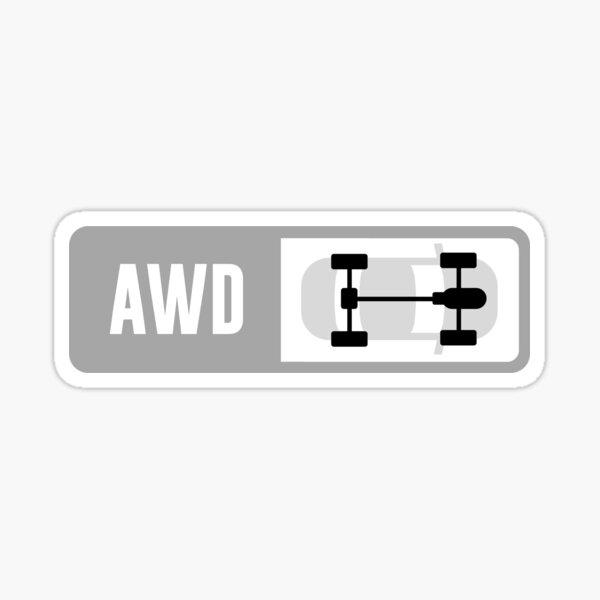 Front Engine AWD - Forza Drive Train Sticker