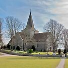 Church of St.andrew, Alfriston, East Sussex by dgbimages