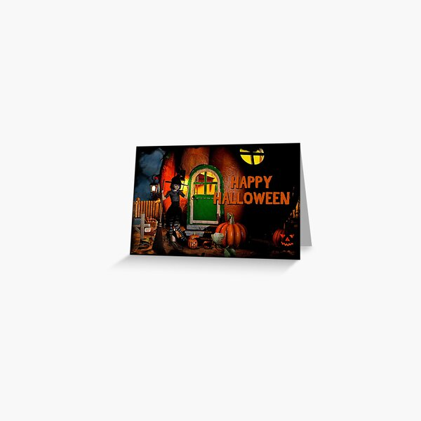 Happy Halloween Greeting Card Greeting Card