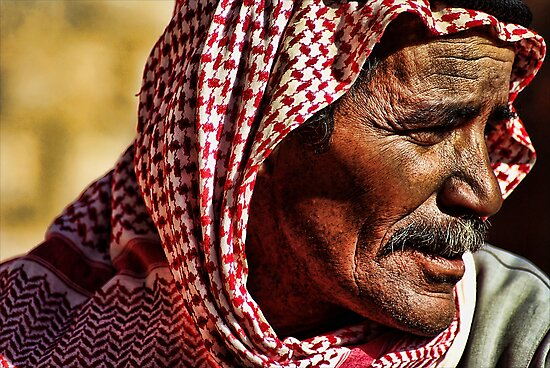 Bedouin elder by Guy Carpenter