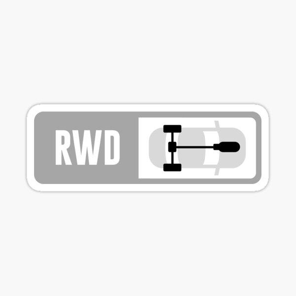 Front Engine RWD - Forza Drive Train Sticker