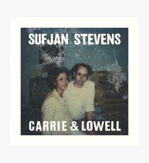 Sufjan Stevens - Carrie & Lowell Art Print