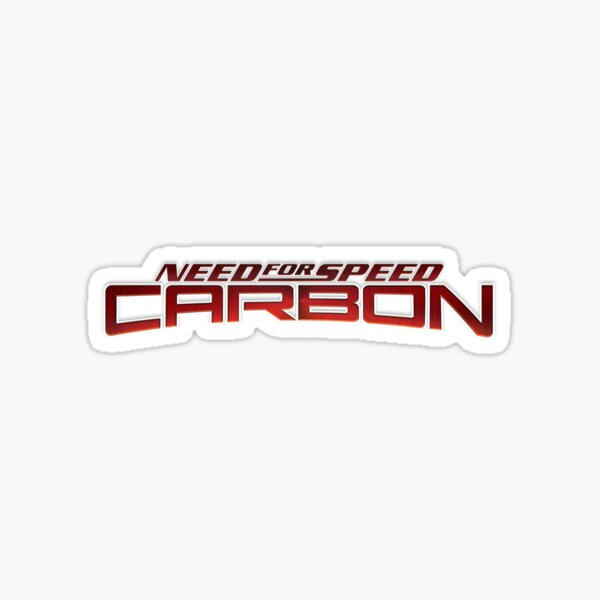 Need for Speed Carbon Pegatina