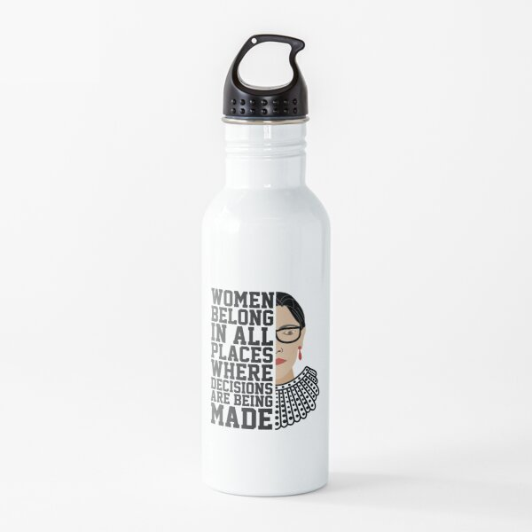Vintage Notorious RBG (Ruth Bader Ginsburg) Water Bottle