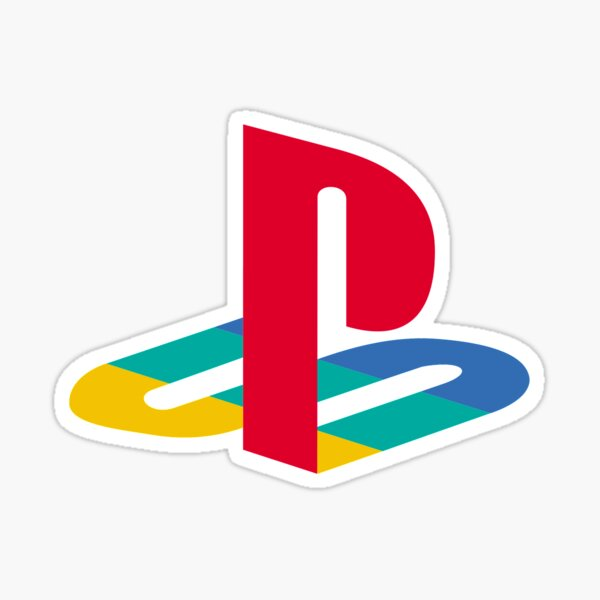 Logo Playstation Sticker