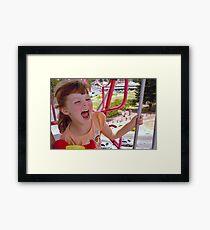 Childs play! Framed Print