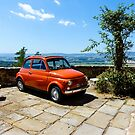 Umbrian Landscape with Fait 500 appropriatly resting in the foreground by MarcW