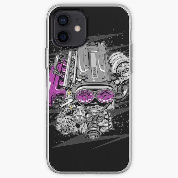 Nissan RB26 engine iPhone Soft Case