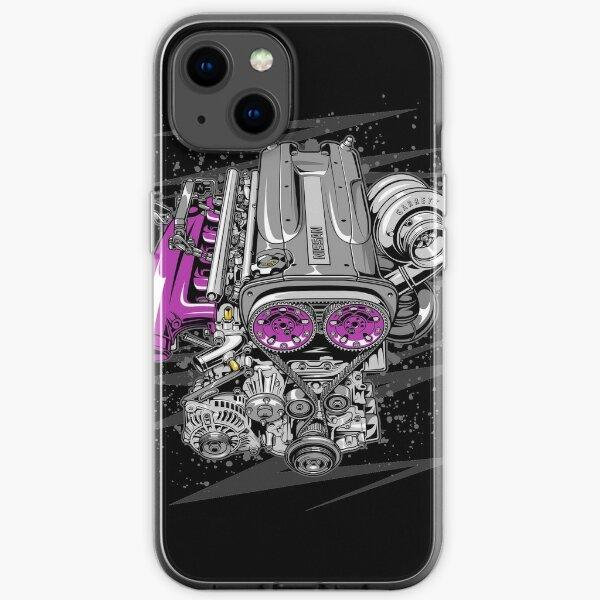 Nissan RB26 engine iPhone Soft Case