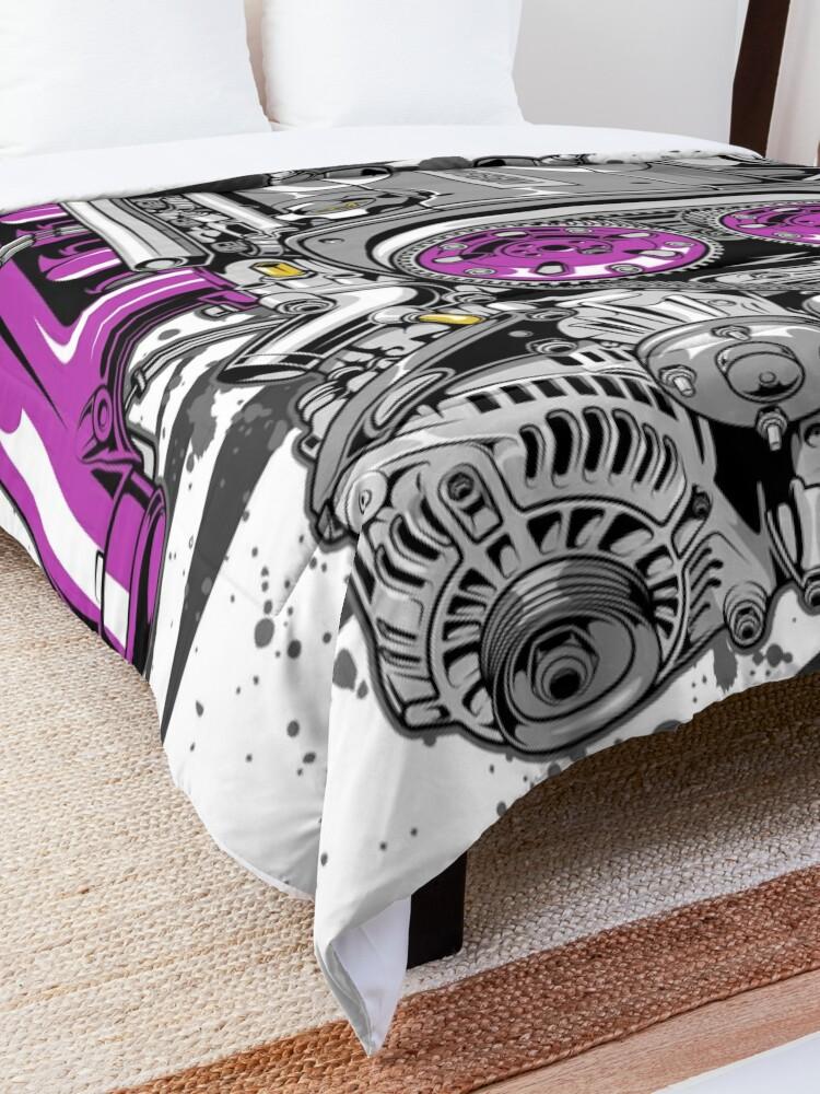 Alternate view of Nissan RB26 engine Comforter