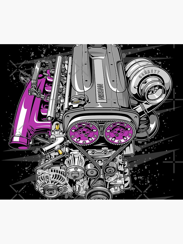 Nissan RB26 engine by w1gger