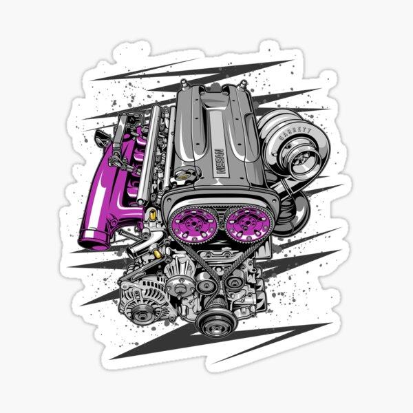 Nissan RB26 engine Sticker