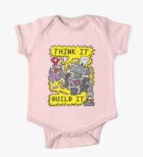 Think Build Robot One Piece - Short Sleeve