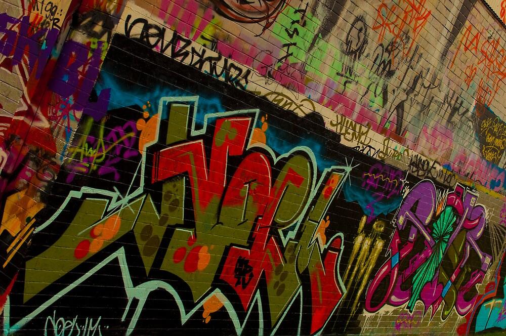 Graffiti - Wollongong by Sean Villa