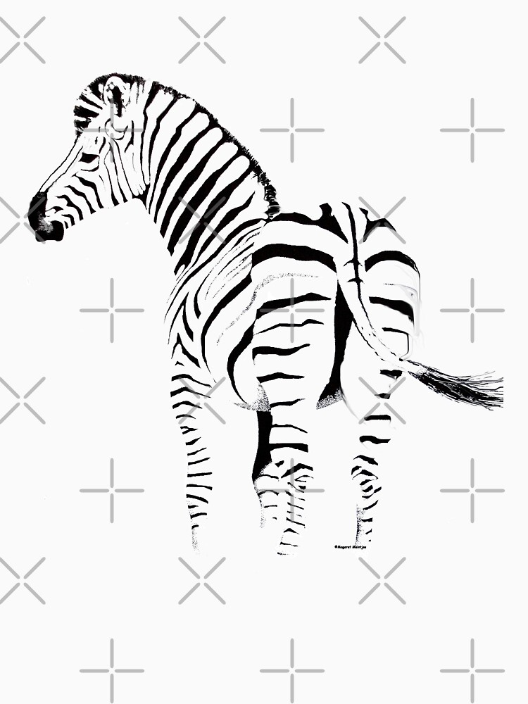 THE ZEBRA TEE - In black and white by mags