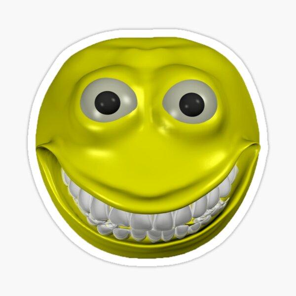 Carita feliz emoji Pegatina