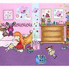 Where's Charlie? - bedroom by jadeboylan