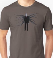 Slender Man with Black Tentacles Unisex T-Shirt