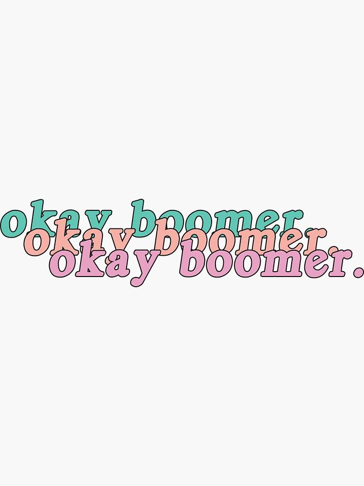 retro Okay Boomer. by cats-designs