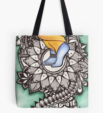 Lotus Feet Tote Bag