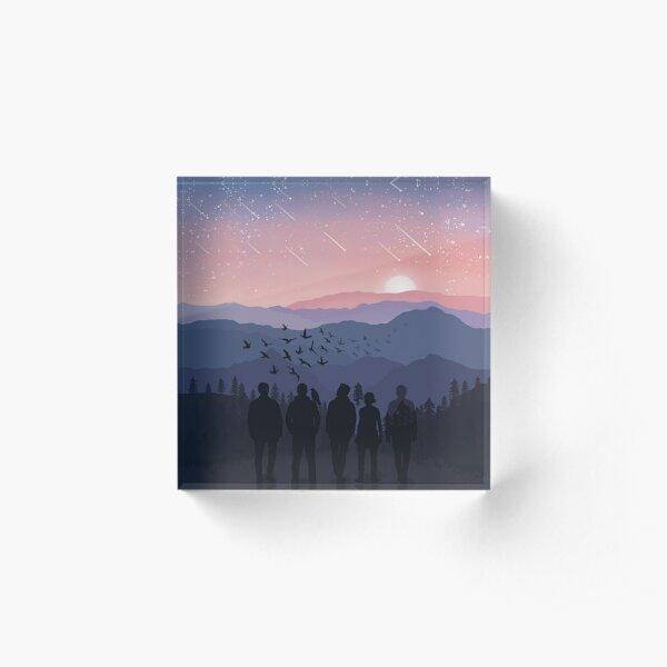 TRC Sunset Landscape Acrylic Block