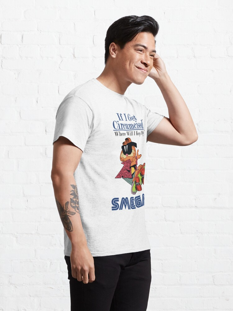 Alternate view of Garfield Smegma Classic T-Shirt
