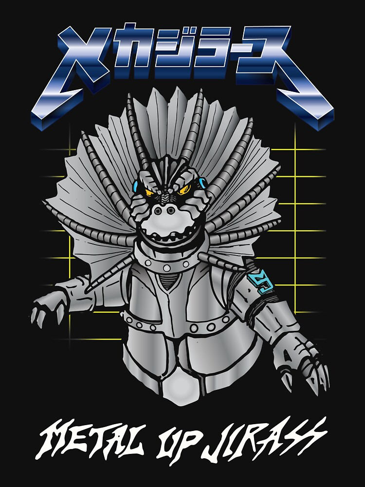Metal Up Jirass by kaijucast