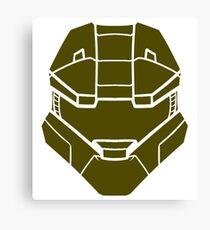 Spartan Helmet Canvas Print