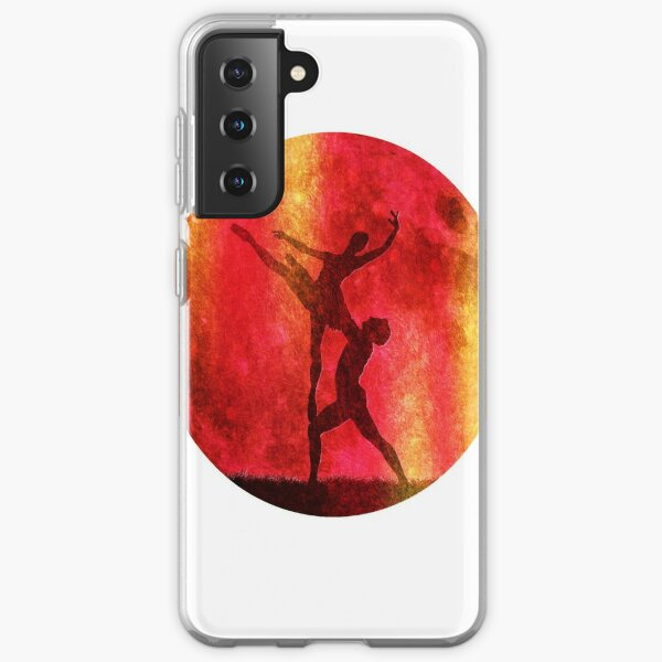 the Symphonic Paradise of the Full Moon, for a couple of ballet dancers. Samsung Galaxy Soft Case