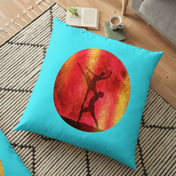 the Symphonic Paradise of the Full Moon, for a couple of ballet dancers. Floor Pillow