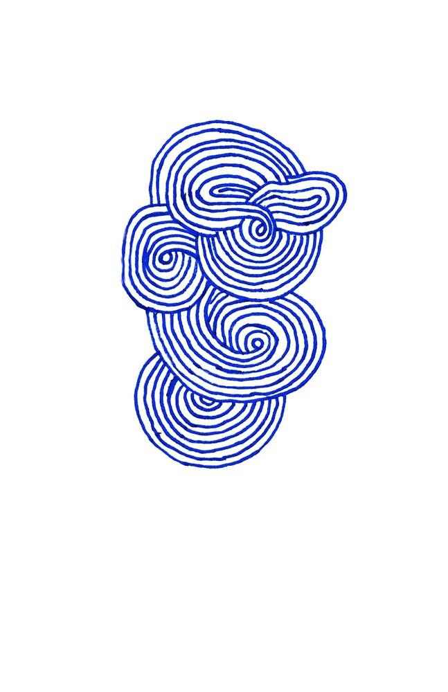 blue swirl by cadyv