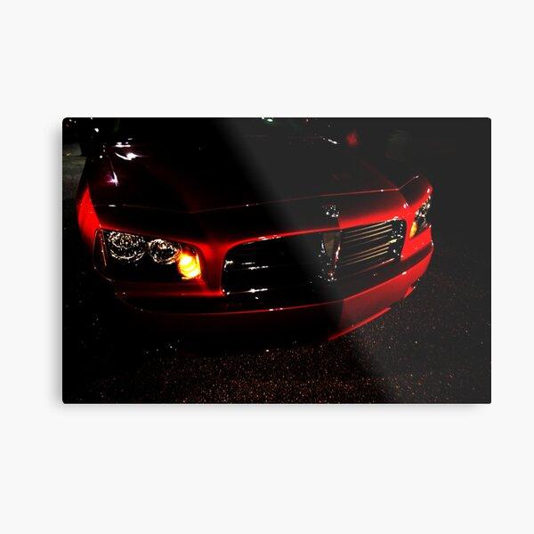 2010 Dodge Charger Metal Print