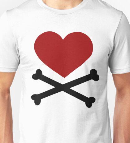 Pirate Love (Red/Black). T-Shirt
