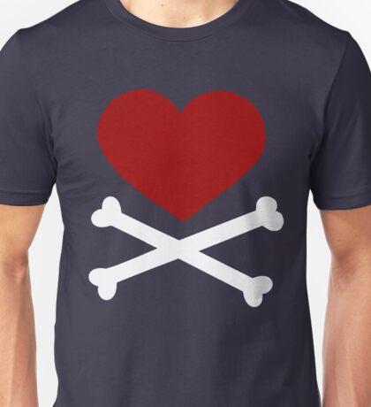 Pirate Love (Red/White). T-Shirt