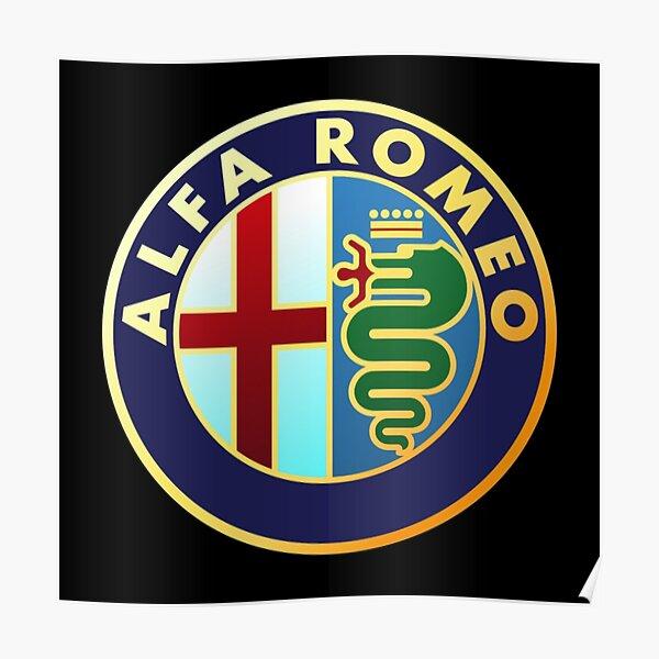 Verkaufsschlager Alfa Romeo Merchandise Poster