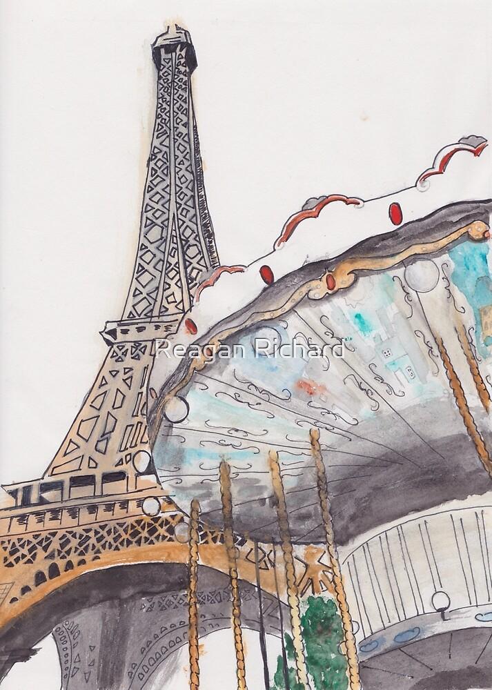 Parisian Carousel by Reagan Broussard