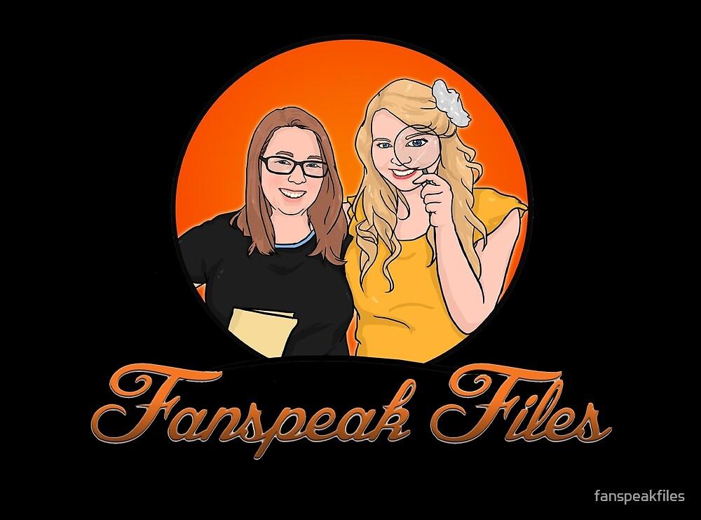 Fanspeak Files Logo in Black by fanspeakfiles