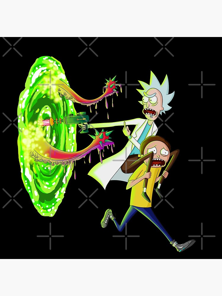 Rick and morty portal monster by kuinif